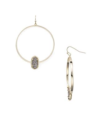 Kendra Scott Elora Loop Drop Earrings