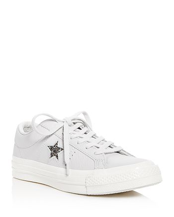 a0b20f3b7c93 Converse - Women s One Star Leather Lace Up Sneakers