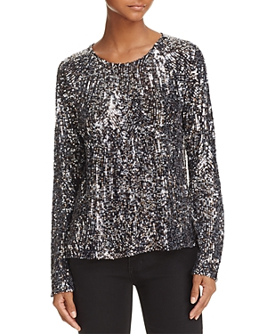 Equipment Abeline Sequin Top