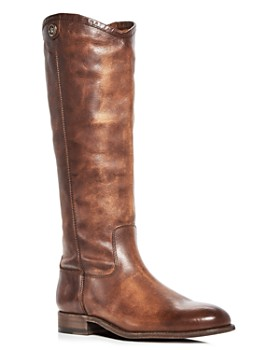 Frye - Women's Melissa Button 2 Leather Tall Boots