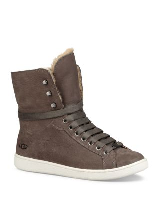 UGG® Starlyn Leather and Shearling High