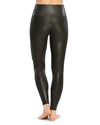Spanx Moto Faux Leather Leggings Bloomingdale S