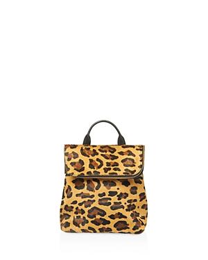 Whistles Verity Leopard Print Mini Calf Hair Backpack