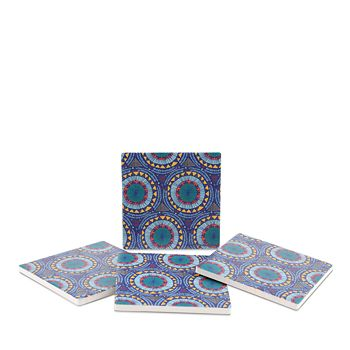Thirstystone - Global Coasters, Set of 4