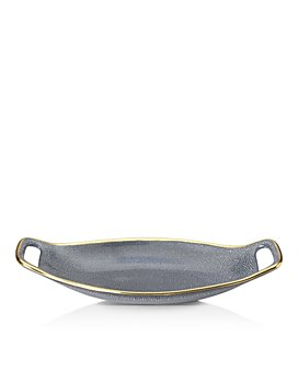 Michael Wainwright - Panthera Blue and Gold Handled Tray - 100% Exclusive