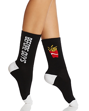 Sock Art Fries Before Guys Crew Socks