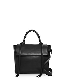 ELENA GHISELLINI - Angel Sensua Small Leather Satchel