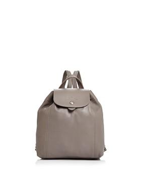 Longchamp - Le Pliage Leather Backpack
