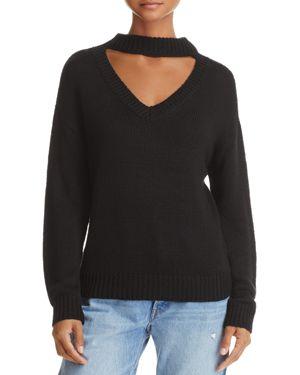 Aqua Cutout Sweater - 100% Exclusive