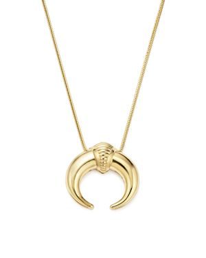 14K Yellow Gold Horn Pendant Necklace, 18 - 100% Exclusive