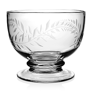 William Yeoward Crystal Jasmine Footed Serving Bowl
