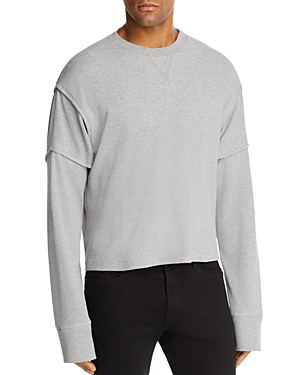 Helmut Lang Military Cocoon Thermal Crewneck Long Sleeve Shirt