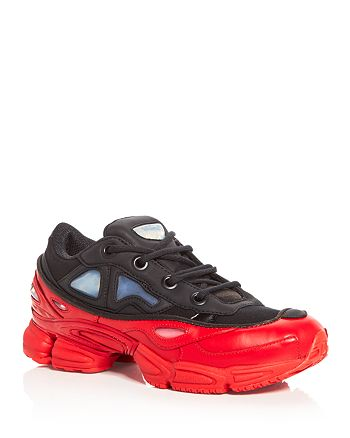 sports shoes b211a fa657 Raf Simons for Adidas Unisex Ozweego III Lace Up Sneakers ...