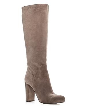 Michael Michael Kors Women's Janice Suede High Heel Boots