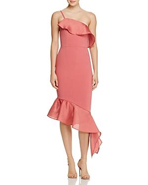 La Maison Talulah Expression Asymmetric Ruffle Dress