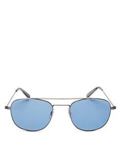 GARRETT LEIGHT - Men's Clubhouse Modified Aviator Sunglasses, 49mm - 100% Exclusive