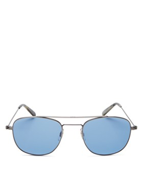 bd3e41053c3a GARRETT LEIGHT - Men s Clubhouse Modified Aviator Sunglasses