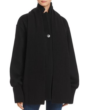 T by Alexander Wang Scarf Coat