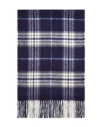 The Men's Store at Bloomingdale's - Cashmere Classic Plaid Scarf - 100% Exclusive