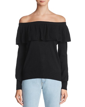 $Joie Adinam Off-the-Shoulder Sweater - 100% Exclusive - Bloomingdale's