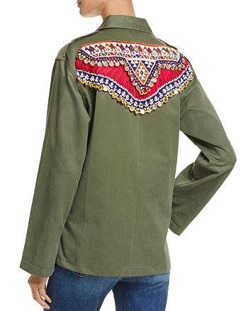 Tricia Fix - Embellished Army Jacket - 100% Exclusive