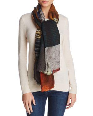 Larioseta Patchwork Wool Scarf