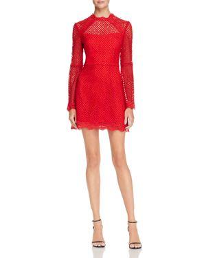 Aqua Bell Sleeve Lace Dress - 100% Exclusive 2706771