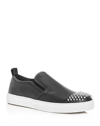 McQ Alexander McQueen - Men's Chris Studded leather Slip-On Sneakers