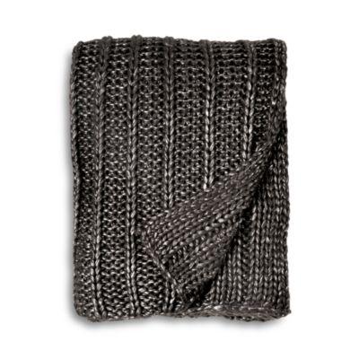 $Michael Aram Chunky Rib Knit Throw - Bloomingdale's