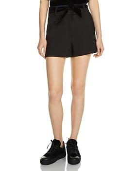 c41f959f967 High Waisted Black Shorts - Bloomingdale s