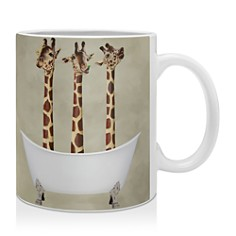 Deny Designs Coco De Paris Three Giraffes in a Bathtub Mug - Bloomingdale's_0