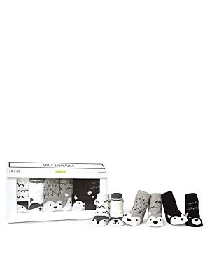 Trumpette Unisex Little Adventurer Animal Socks, Set of 6 - Baby