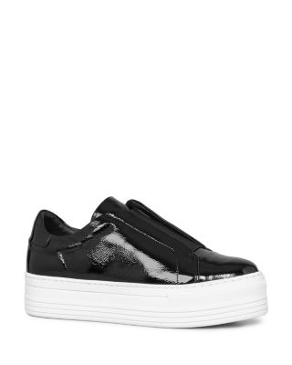 AllSaints Bow Slip-On Sneakers