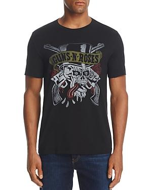 John Varvatos Guns N 39 Roses Crewneck Short Sleeve Graphic
