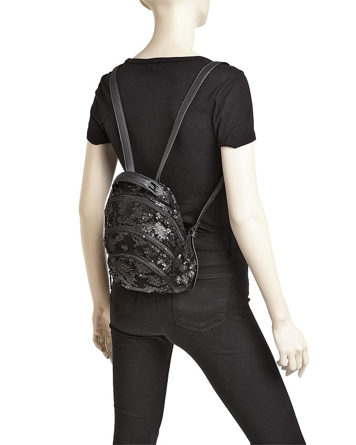 Kendall + Kylie KENDALL and KYLIE Sloane Sequin Mini Backpack ... ca99aa985188a