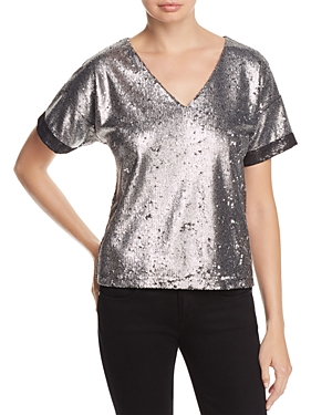 Catherine Catherine Malandrino Sandy Sequined Top