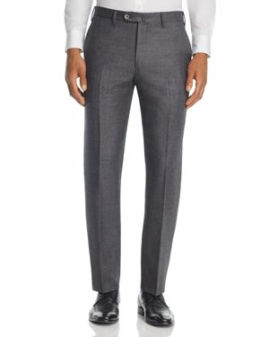 Valentini Weave Regular Fit Trousers
