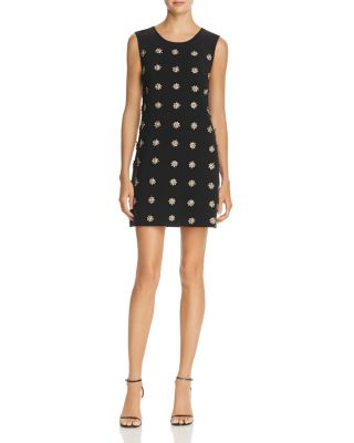 $Elizabeth and James Lindsey Embellished Mini Dress - Bloomingdale's