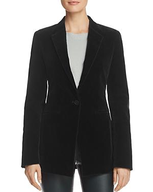 Theory Stretch Velvet Jacket
