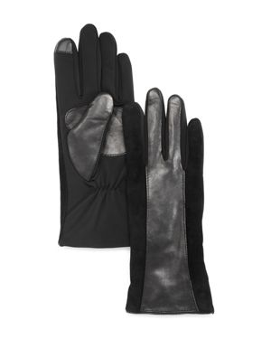 Echo Leather Stripe Superfit Tech Gloves