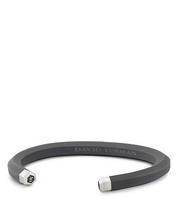 David Yurman - Hex Cuff Bracelet in Gray