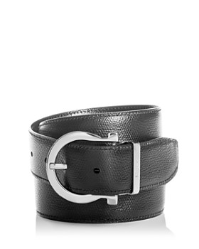 Salvatore Ferragamo - Men's Reversible Leather Belt