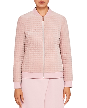 Ted Baker Ted Says Relax Prindil Quilted Velvet Jacket