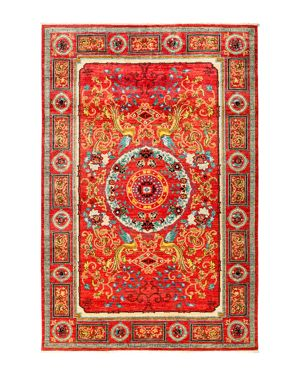 Solo Rugs Eclectic Area Rug, 9' 1 x 6' 1
