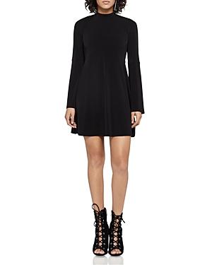 BCBGeneration Flared-Sleeve Mini Dress