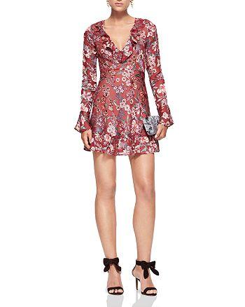 For Love & Lemons - Gracie Mini Dress - 100% Exclusive, Gorjana Newport Tiered Drop Earrings & More