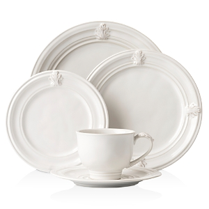 Juliska Acanthus Whitewash 5pc Setting-Home