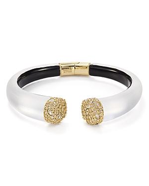 Alexis Bittar Encrusted Pave Hinge Bracelet