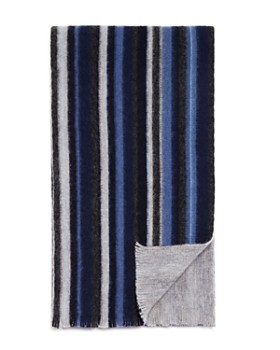 The Men's Store at Bloomingdale's - Wide Stripe Scarf - 100% Exclusive