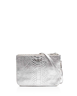 Zadig & Voltaire Clyde Embossed Leather Crossbody